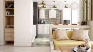 Основы проектирования однокомнатной квартиры