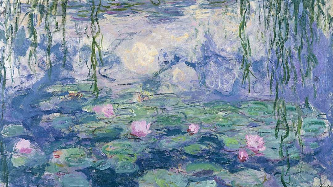 Отражение творчества Клода Моне мастер‐класс по живописи