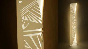 Светильник Leaf Школы Дизайна АртФутуре на выставке в Москве