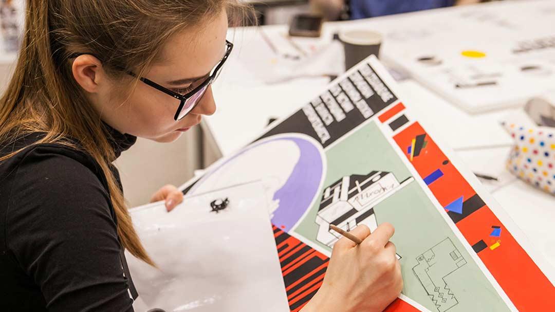 курс художественная подготовка в дизайне
