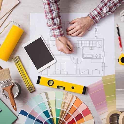 Обучение дизайн интерьера квартиры, дизайн интерьера однокомнатной квартиры