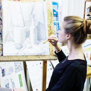 рисунок живопись композиция, летний интенсив